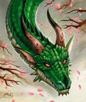 Dragon of spring