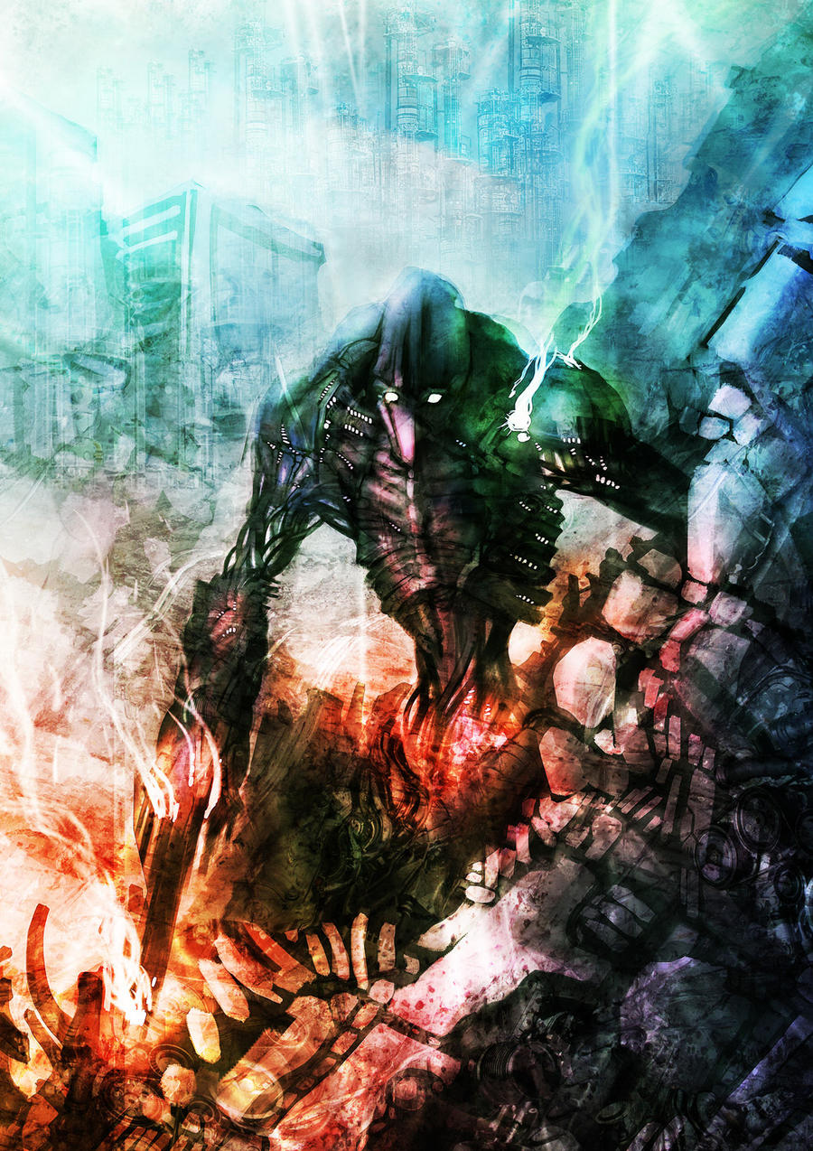 Metalite Wraith by gegig