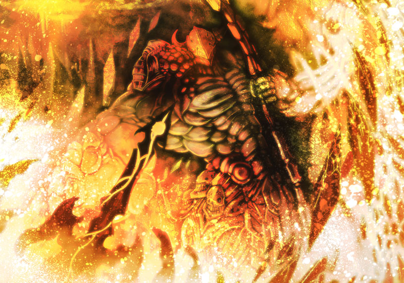 Magmamancer by gegig