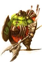Plague Knight by gegig