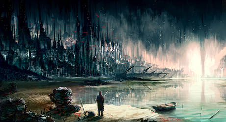 City of the Depth by gegig
