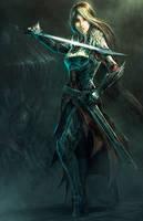 Blade maiden by gegig