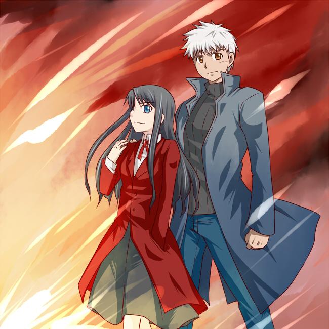 Shiro and Rin by yuemaru