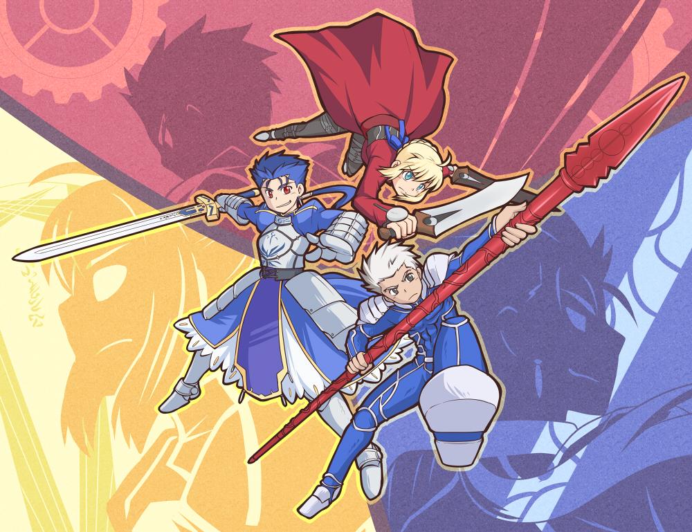 Three knight by yuemaru