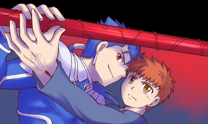 Lancer/Shirou by yuemaru
