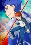 Lancer and Shirou