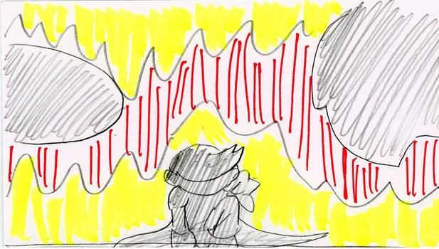 Lloyd the Monkey 2 Storyboard Panel