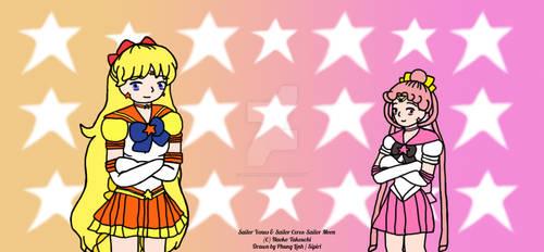 Eternal Sailor Venus and Eternal Sailor Ceres