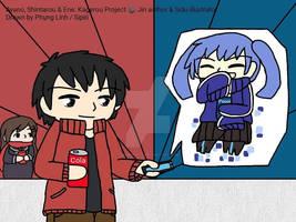 Ayano, Shintarou and Ene