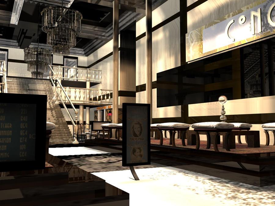 Hotel at New Prometheus by laadeedoll