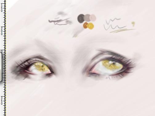 Eyes - 001 by laadeedoll