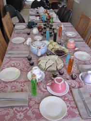 Unbirthday Party Set-up by twiliheroine