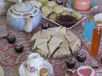 Tea-time Close-up by twiliheroine