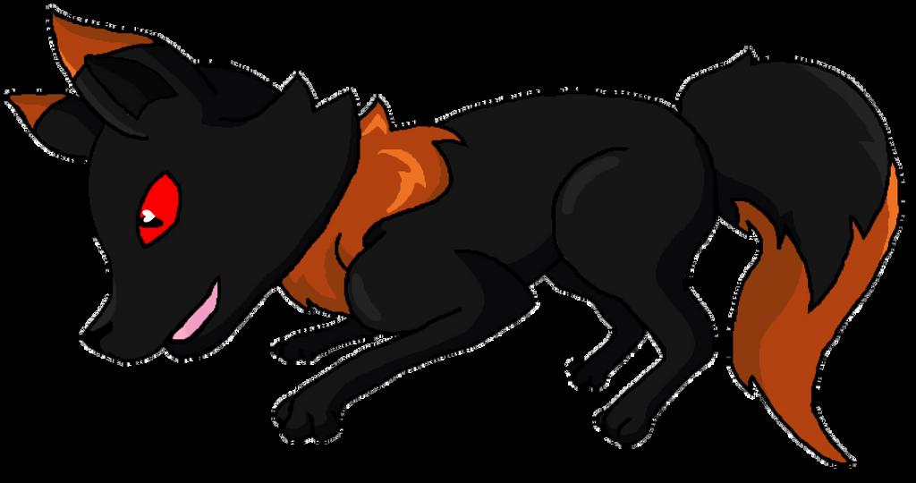 Jumping Fox by Baltazar-SatanSon