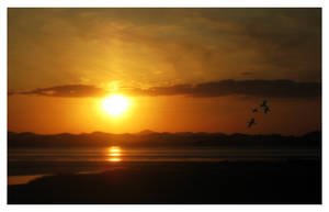 Sunset - South Korea by MeXuT