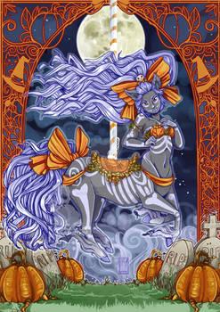 pumpkin queen carousel