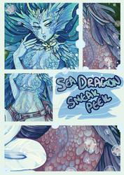 Sneak peek sea dragon carousel