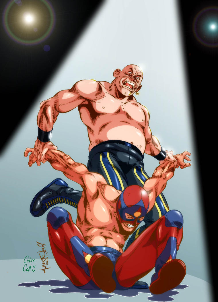 Lucha Libre by CellsArt on DeviantArt