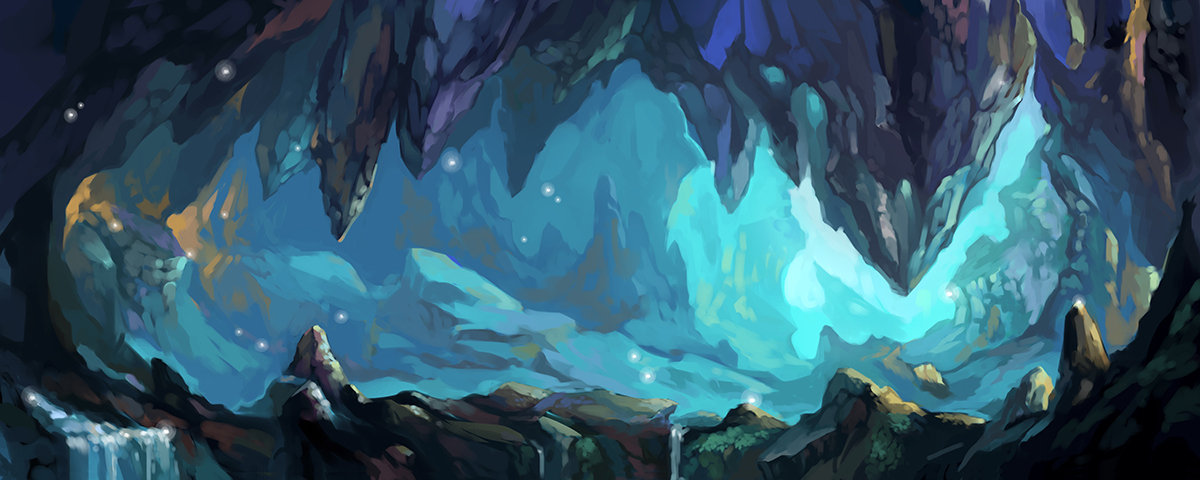 Mystic Caverns by Tyvik