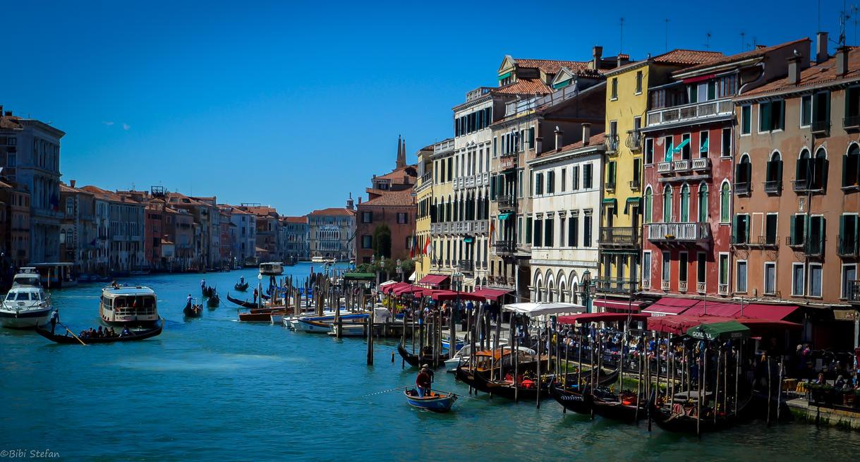 Playful Venice by bibiwannafly