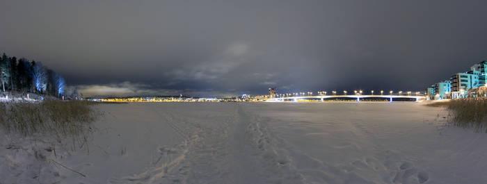 Jyvaskyla at Night