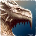 Daily Painting #63 - My Dragon Avatar