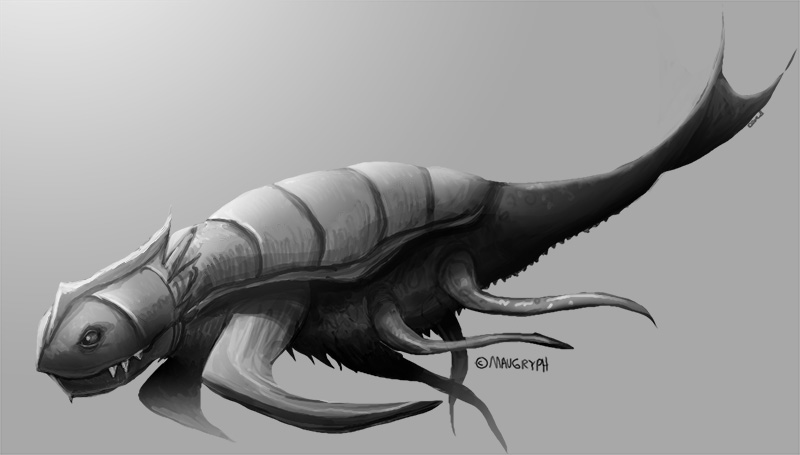 Sea Monster Concept Art by maugryph on DeviantArt