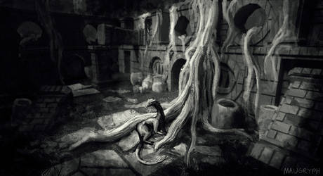 Project Night: Ruins Concept art (D31)
