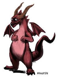 Socially Awkward Dragon (D33)