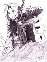Edward Elric by ScreamingGoat