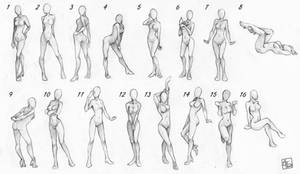 Pose References Female