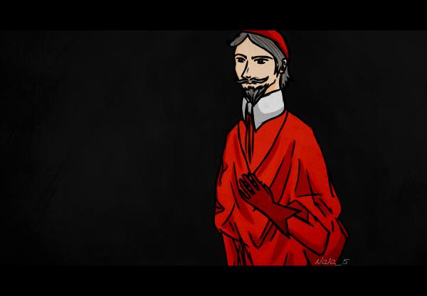 Cardinal Richelieu (jan '14) by Nala5