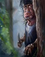 Rambo by bangalore-monkey