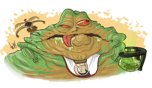 Jabba by bangalore-monkey