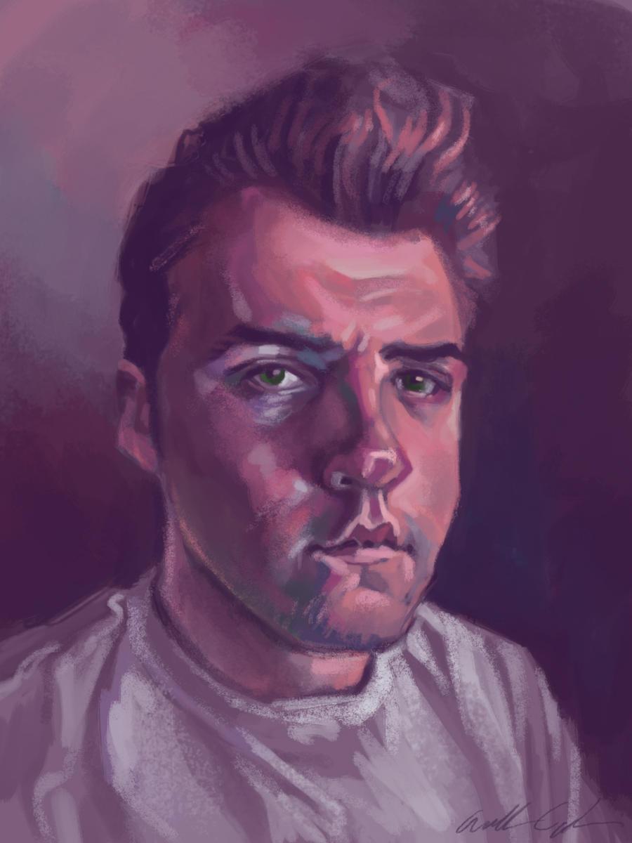 Self Portrait 2012 by bangalore-monkey