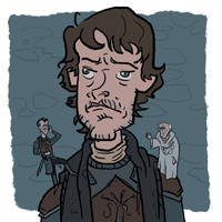 Theon's bad decisions by bangalore-monkey