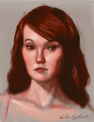 Portrait sketch 22
