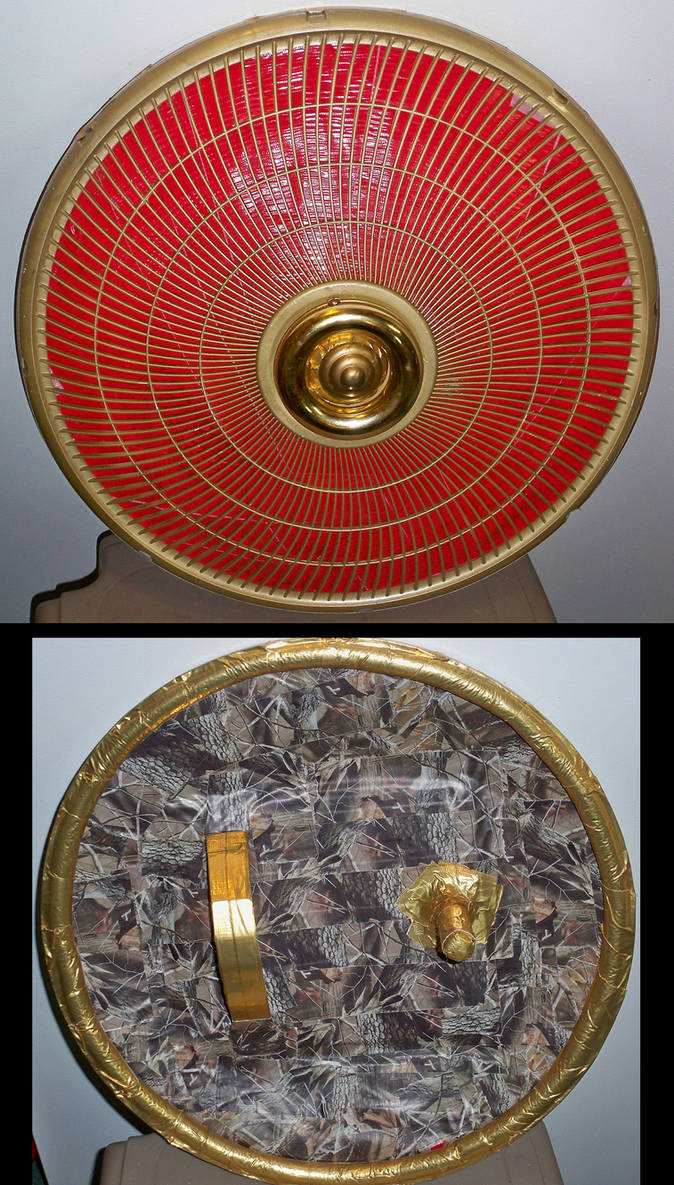 Gilded Duct tape Shield
