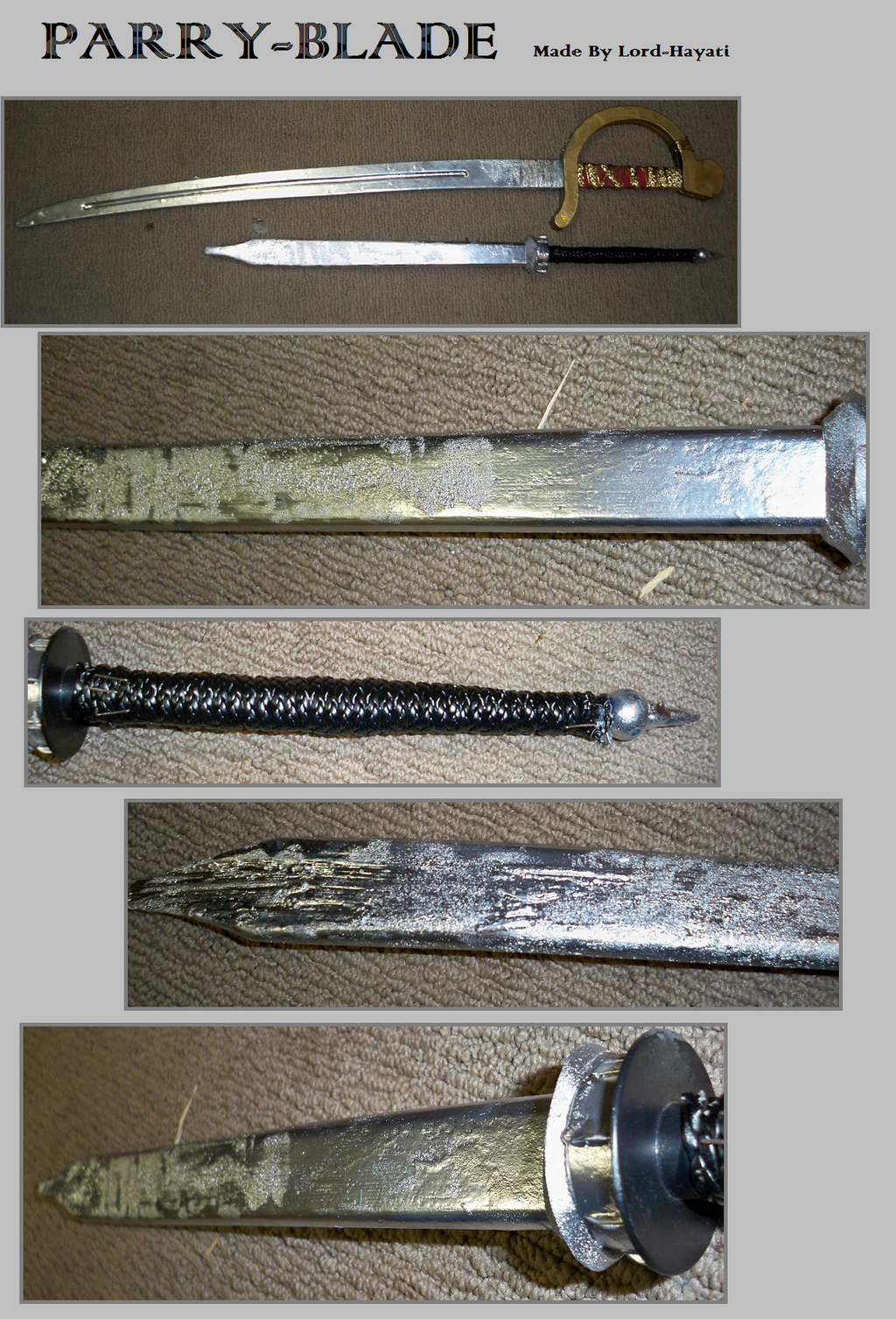Parrying Blade -Homemade by Lord-Hayati