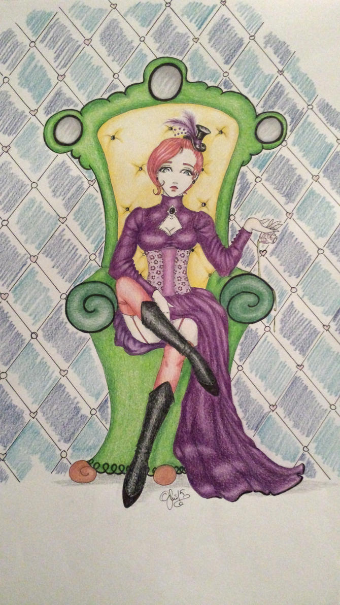 Queen of tea by byonin