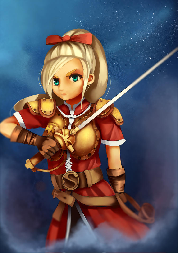 Dragon quest heroes Meer by BANJOVSOP