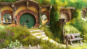 There lived a hobbit