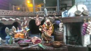 dwarfs on the kitchen(fragment)