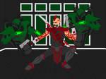 Gun Fighter Pose 2 by Roguejak