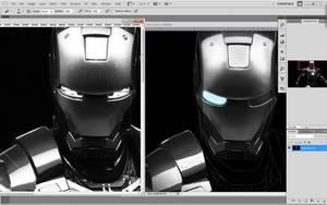 Iron Man W.I.P by Colltify
