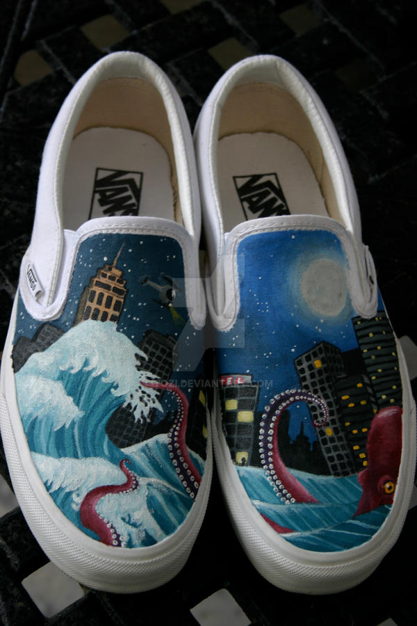 Painted Vans by Tozi