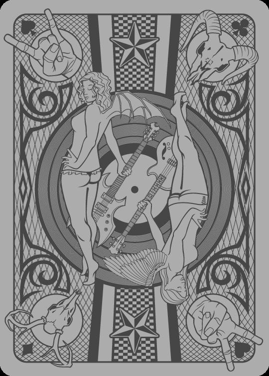 Card of Rock by ctrl-alt-delete
