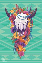 Sonoran Flowers by ctrl-alt-delete