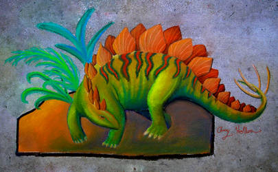Stegosaurus by ctrl-alt-delete