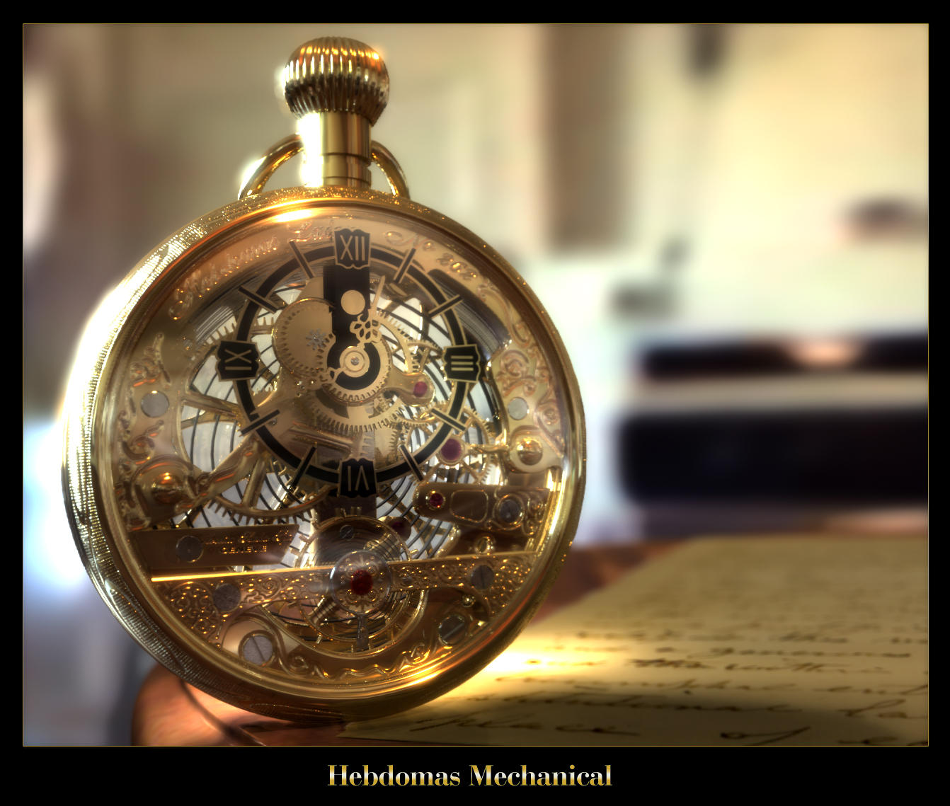 Hebdomas Mechanical by vi0
